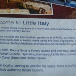 Banquets Menu in Little Italy New York  (2)