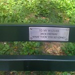 Jacks seat in Central Park New York