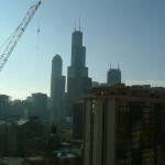 Views in Chicago from up high